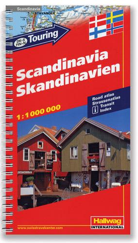 Scandinavia Tourist Road ATLAS.