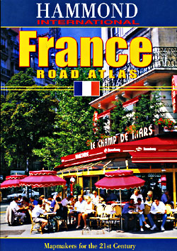 France Tourist Road ATLAS.