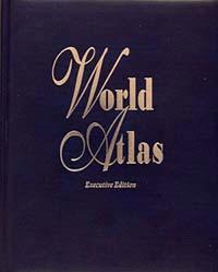 "Hammond ""Executive Edition"" World Atlas."