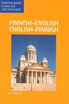 Finnish-English, English-Finnish, Concise Dictionary.