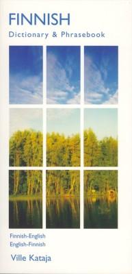 Finnish English, English-Finnish, Phrasebook and Dictionary.