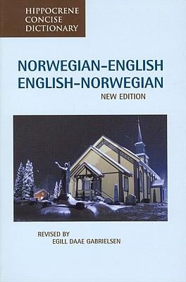 Norwegian-English, English-Norwegian language, Concise Dictionary.