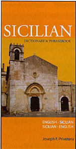 Sicilian-English, English-Sicilian, Concise Dictionary.