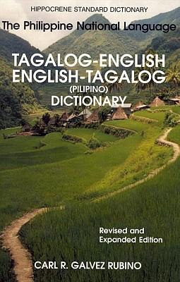 Tagalog-English, English-Tagalog (Pilipino), STANDARD Dictionary.