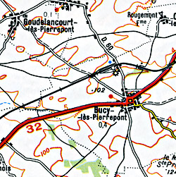 Charleville, Mezieres, and Maubeuge Section.