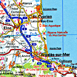 France Tourist Road ATLAS