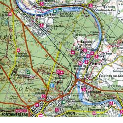 Paris Southeast and Montargis Section.