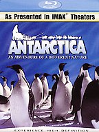 Antarctica: An Adventure Of A Different Nature - Travel Video - Blu-ray Disc.