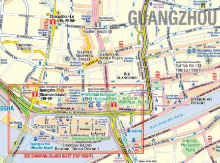Guatemala Road and Travel Reference Physical Map.
