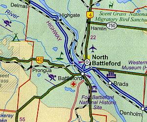 Saskatchewan Road and Tourist Map, Canada.