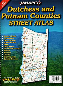 Dutchess and Putnam Street ATLAS, New York, America.