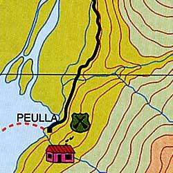 Bariloche Trekking Map - Cerro Catedral (Cathedral Hill).