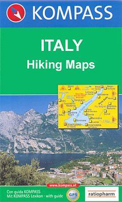 Mont Blanc, Hiking Map.