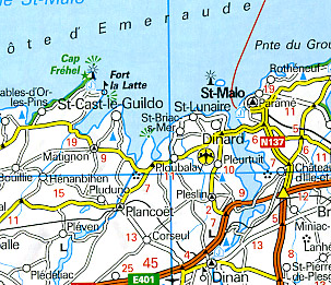 Europe, Western and Eastern, plus Scandinavia, Road and Shaded Relief Tourist ATLAS.