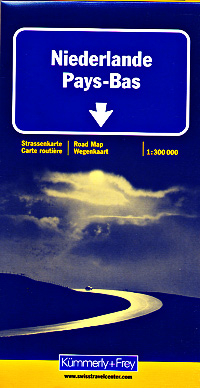 Netherlands Road and Tourist Map.