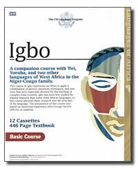 Igbo Audio CD Language Course (FSI).
