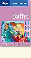 Baltic States Phrasebook.