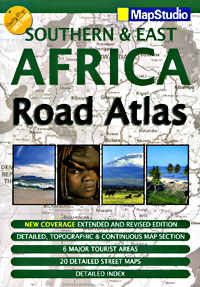 Southern and East Africa, Tourist Road ATLAS.