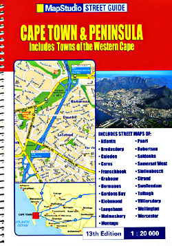 Cape Town and Peninsula Street ATLAS, South Africa.