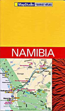 Namibia Tourist Road ATLAS.