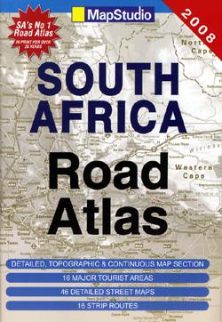 South Africa, Tourist Road ATLAS.