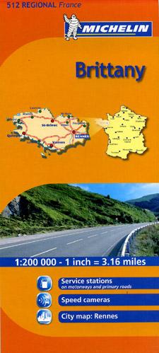 "Brittany (""Bretagne"") Region #512."