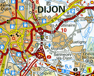"""Burgundy (""""Bourgogne"""") Region #519."""