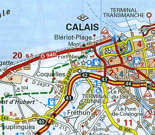 """Nord Pas de Calais (""""Lille-Amiens"""") Region #511."""