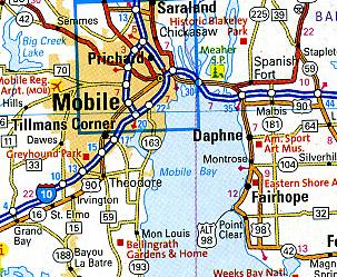 North America Road ATLAS for Canada/USA/Mexico.