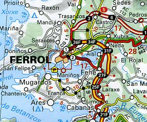 North West - Galicia Region #571.