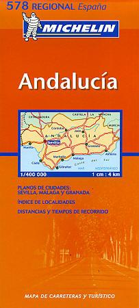 "Southern Region - Andalucia Region (including ""Costa del Sol"") #578."