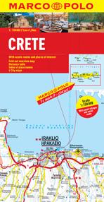 Crete Road and Tourist Map. Marco Polo edition.