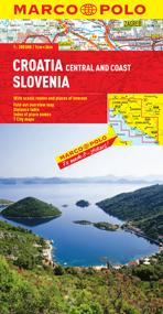 Croatia and Slovenia Road and Tourist Map. Marco Polo edition.
