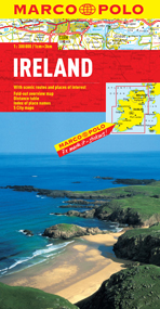 Ireland Road and Tourist Map. Marco Polo edition.
