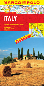Italy Road and Tourist Map. Marco Polo edition.