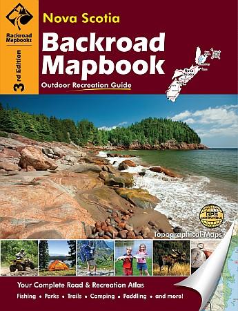 Nova Scotia Backroad Road and Recreation ATLAS.