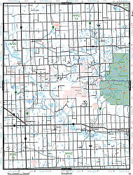 Southern Saskatchewan Road and Recreation ATLAS, Canada.