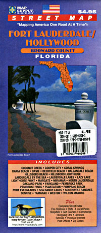 Broward County, Fort Lauderdale and HOllywood County, Florida, America.