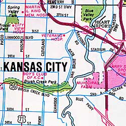 Olatha, Overland Park and Johnson County, Kansas, America.