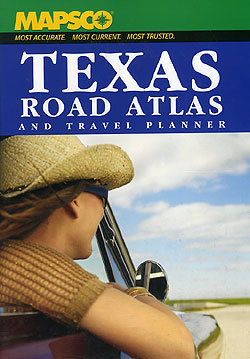 Texas Road ATLAS and Travel Planner, America.
