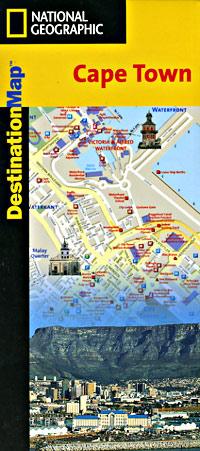 "Cape Town ""Destination"" map South Africa."