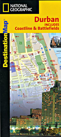 "Durban ""Destination"" map South Africa."