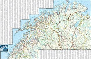 Finland and Northern Scandinavia Adventure Road and Map.