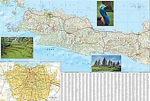 Java Adventure Road Map, Indonesia.