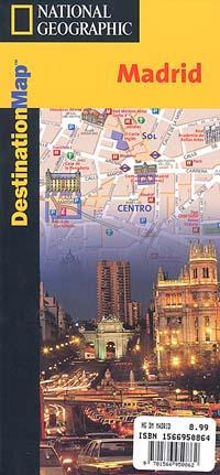 "MADRID ""Destination Map"", Spain."