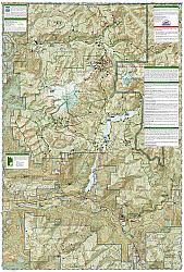 Mount Baker & Boulder River, Mount Baker/Snoqualmie National Forest, Road and Recreation Map.