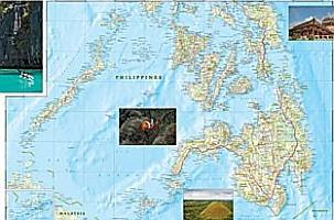 Philippines Adventure Road Map.