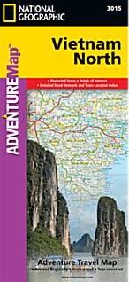 Vietnam North Adventure Road Map.