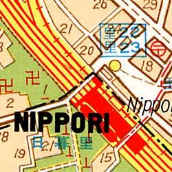 "TOKYO ""Great Map"", Japan."