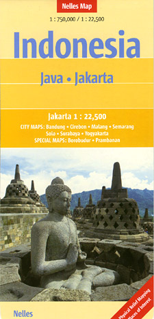 Java and Jakarta, Indonesia.